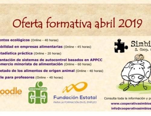 Oferta Formativa SIMBIOSIS (Abril 2019)