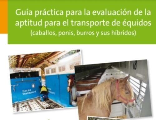 Guía práctica para la evaluación de la aptitud para el transporte de équidos