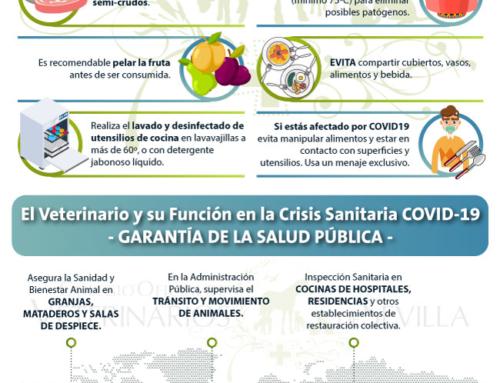 COVID-19: Veterinarios, primera línea de acción para garantizar la Salud Pública.